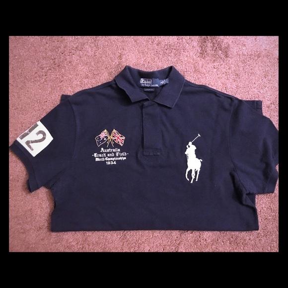 4291f51a 🆑📦Ralph Lauren Track & Field Polo shirt. M_58ef932c522b4516fe02f2c2