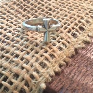 James Avery Jewelry - James Avery sterling silver cross ring size 4.5