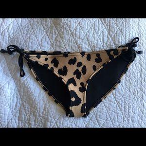 Triangl Cheetah Print Bikini Bottoms NWOT