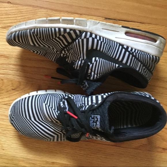 Nike Stefan Janoski Max QS Dazzle Zebra Boutique