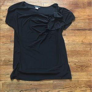 Ava & Grace Tops - Black BLOUSE by AVA & GRACE Goes with Everything!