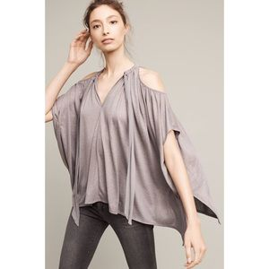 NWT Anthro Deletta Tulay Open Shoulder Top