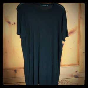 Brandy Melville black t shirt dress