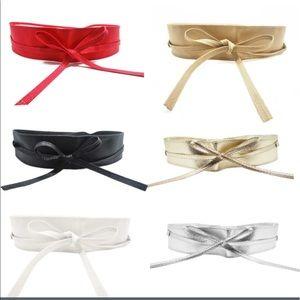 Accessories - 3/10$🔴SALE BOHO STYLE SILVER WRAP BELT OSFM
