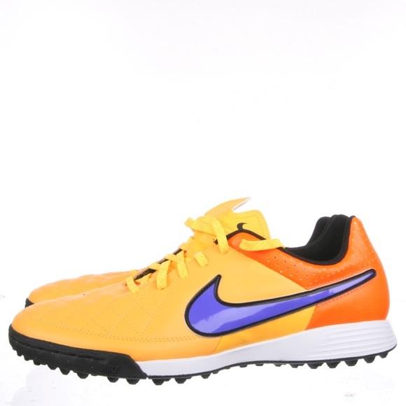 Nike Tiempo Genio Leather TF Indoor soccer shoes 1f472fa551b28
