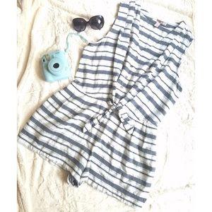 Forever 21 Pants - Striped Sleeveless Romper