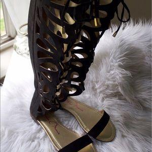 Shoes - 🆕  Bella Marie Gladiator Sandal NWOT