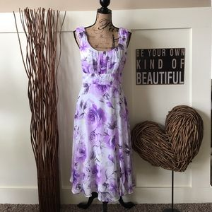 connected apparel  Dresses & Skirts - Pretty feminine floral Connected Apparel dress