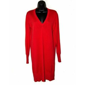 Maison Martin Margiela Other - Maison Martin Margiela red sweater dress v neck