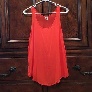 bp Tops - Beautiful BP orange Foley tank top