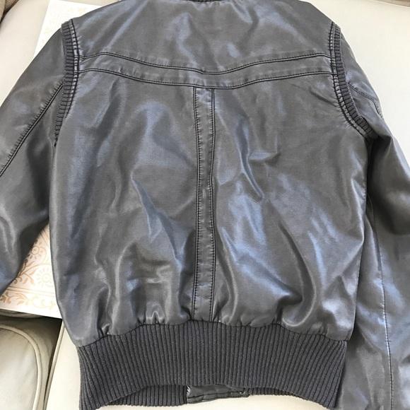 Bdg leather jacket
