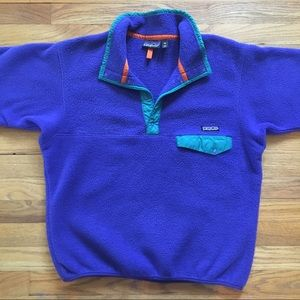 Patagonia Other - Vintage Patagonia Snap-T Fleece Pull-Over Jacket