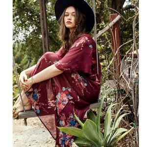 Band of Gypsies Dresses & Skirts - Band of Gypsies boho floral maxi