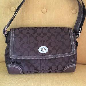 Coach Handbags - Authentic Coach signature bag.