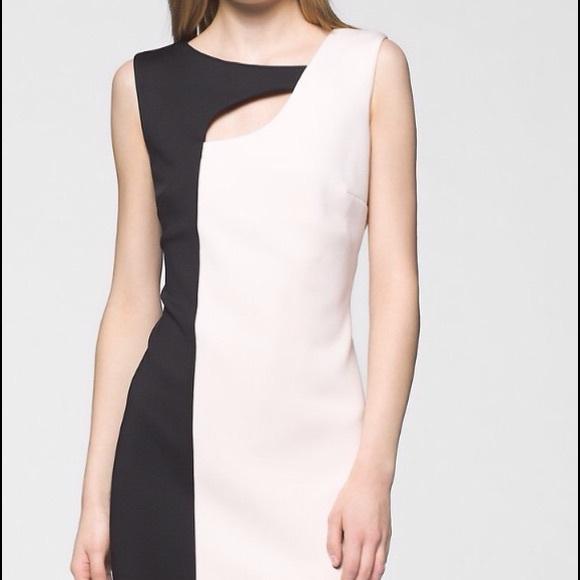 50 off calvin klein dresses skirts sale calvin klein black white dress from jules 39 s. Black Bedroom Furniture Sets. Home Design Ideas