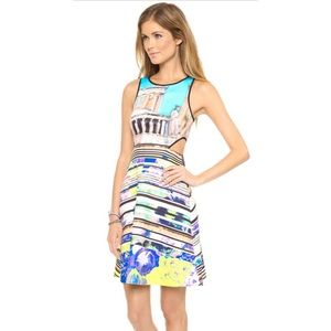 NWT Clover Canyon Acropolis Garden Cutout Dress