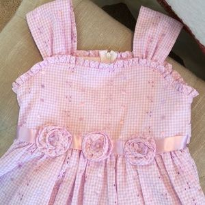 Bonnie Jean Other - Bonnie Jean Lavender Pink Gingham Dress