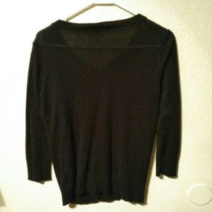 Forever 21 Sweaters - Black button up cardigan
