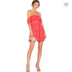 Used, Coral reef color dress for sale