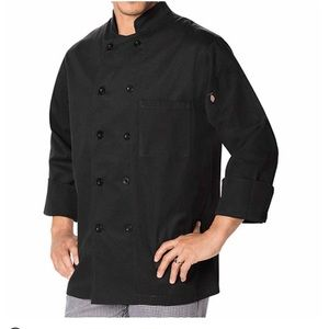 Dickies Other - Dickies classic double breasted chef coat