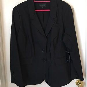 Eloquii Jackets & Blazers - NWT! Eloquii Luxe Doubleweave Sydney Fit Blazer