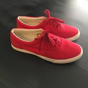 Bucket Feet Shoes - Red sneakers!