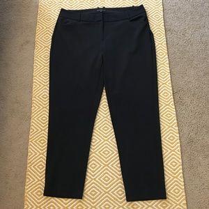 Eloquii Pants - Eloquii Kady Fit Neoprene Pant - Black, 18