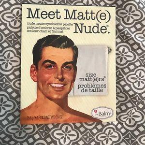 thebalm Other - Meet Matte Nude Eyeshadow Palette
