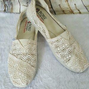 Skechers Shoes - Bob's Skechers With Memory Foam lace slip ons