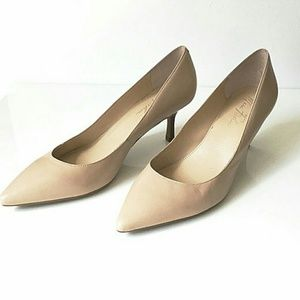 Marc Fisher Shoes - Marc Fisher Tan Kitten Heels