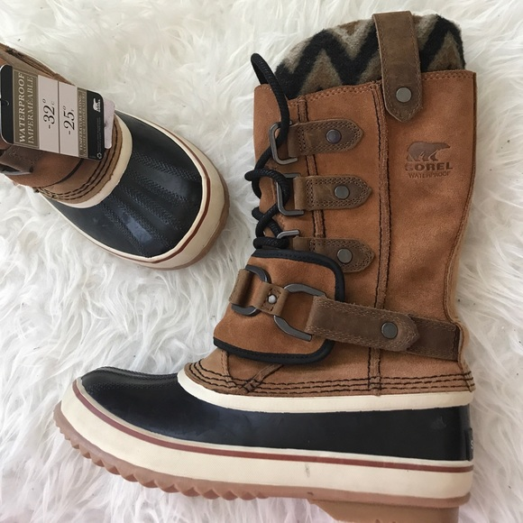 beauty low price half off Sorel Joan of Arctic Knit PREMIUM II Boots NWT