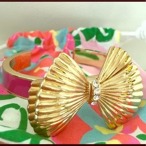 Lilly Pulitzer Pink and Gold Bracelet / Bangle