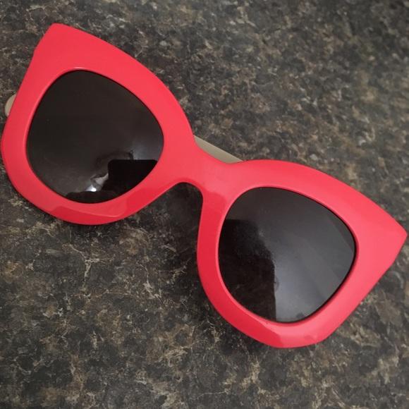 3481f8791a7a Celine Accessories - Celine Marta Sunglasses in Coral