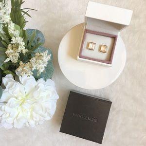 Michael Kors gold stud earrings