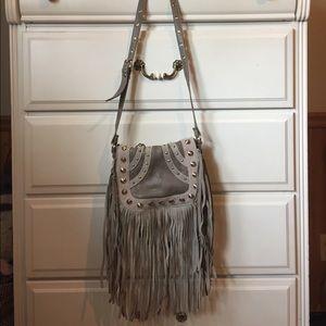 Deena & Ozzy Handbags - Urban fringe purse