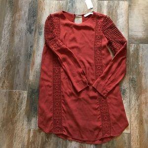 ASTR Dresses & Skirts - Beautiful Rust colored dress: Nordstroms