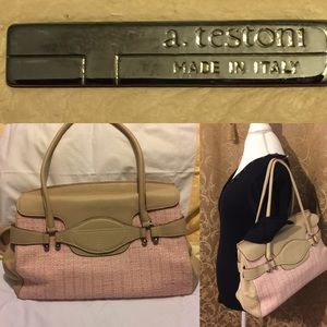 a. testoni Handbags - A.testoni Made in Italy hand bag