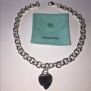 Tiffany & Co. Jewelry - Authentic Pre Loved Tiffany&Co Heart Necklace.