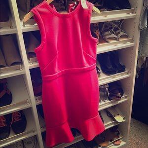 LOFT Dresses - Loft dark pink scuba dress !! NWT !! Pretty