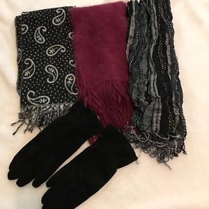 Other - Glove and scarf bundle