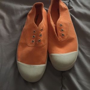 Tucker + Tate Other - Tucker + Tate slip on sneakers 👟 orange 🍊
