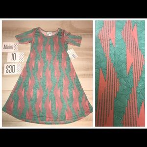 LuLaRoe Other - New with tags - Lularoe Adeline Dress 👗 girls 10