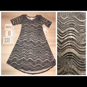 LuLaRoe Other - New with tags! Lularoe Adeline Dress 👗 Size 10