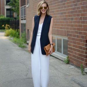 C'est Ca New York Jackets & Blazers - Blue Dark Classic vest