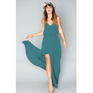 Show Me Your MuMu Dresses & Skirts - NWOT show me your mumu Kendall emerald chiffon
