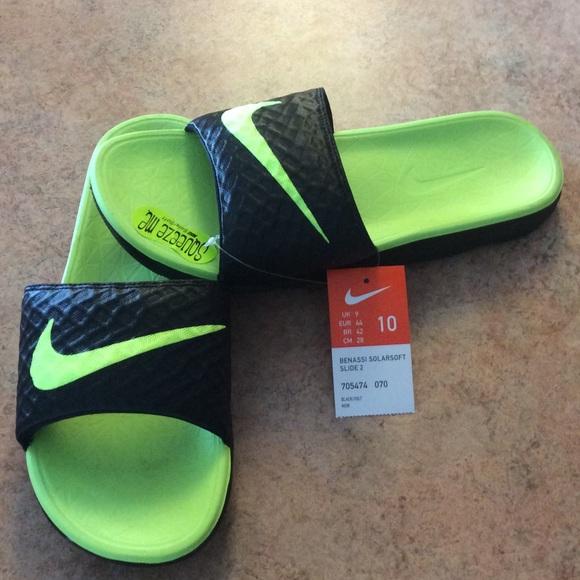 ec9031e9a011 NWT Men s Nike Benassi Solarsoft Slide