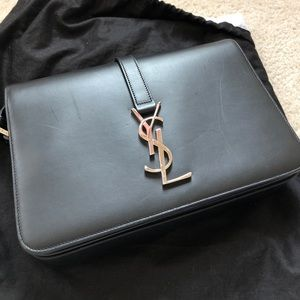 Saint Laurent Bags   Ysl Universite Bag Black Medium   Poshmark 29aa82c6e1