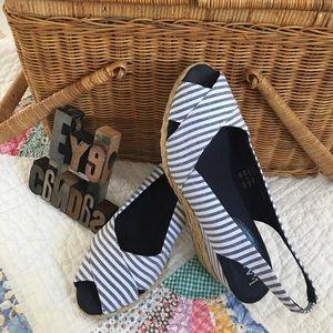 Ralph Lauren Shoes - Ralph Lauren Peep Toe Sling Back Espadrilles