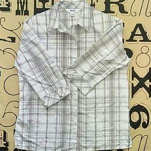 Alia Tops - Alia button down shirt