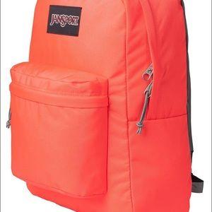 Jansport Handbags - JANSPORT SUPERBREAK TAHITI ORANGE